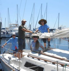 Sailing class Gulf Breeze